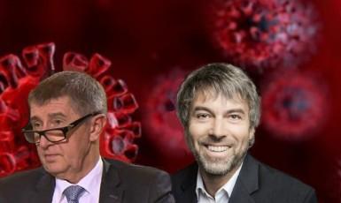 Andrej Babiš a Petr Kellner (F24)