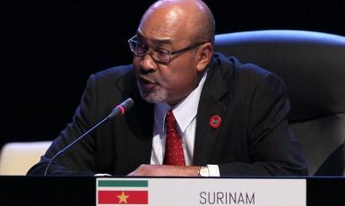 Prezident Surinamu Dési Bouterse  (Cubadebate on Foter.com)