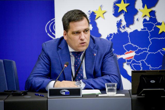 Europoslanec Tomáš Zdechovský  (Evropská unie)