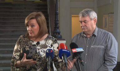Alena Schillerová a Vojtěch Filip (ČT)
