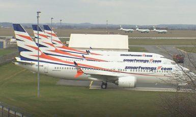 Dopravní letadla společnosti Smartwings  (ČT)