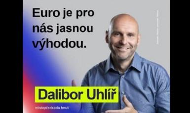 Podvržená propagace Klausovy strany (Facebook VK ml.)