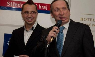 Pavel Matocha a Václav Klaus ml.  (Facebook Pavla Matochy)