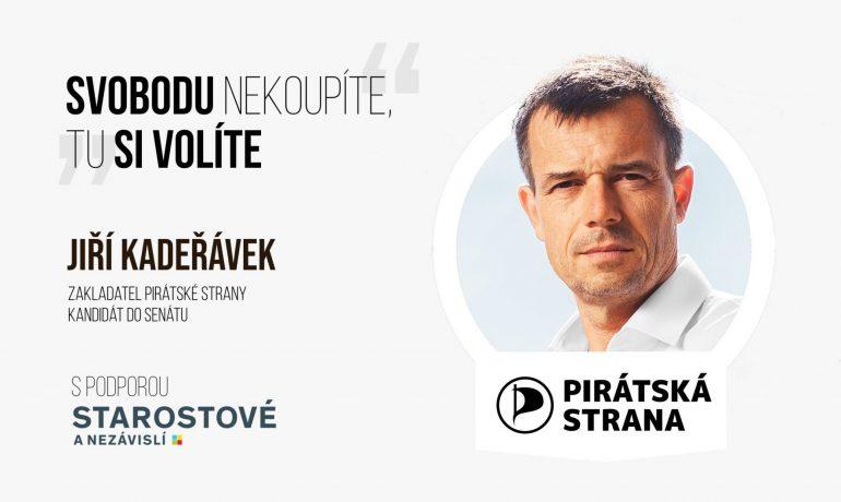 Twitter Jiřího Kadeřávka