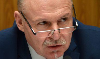 Hejtman Olomouckého kraje Ladislav Okleštěk (ANO)  (ČTK)