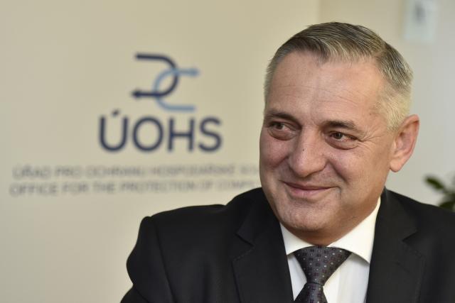 Předseda Úřadu pro ochranu hospodářské soutěže Petr Rafaj  (ČTK)