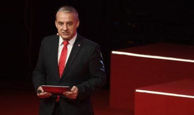 Předseda Českomoravské konfederace odborových svazů (ČMKOS) Josef Středula  (ČTK)