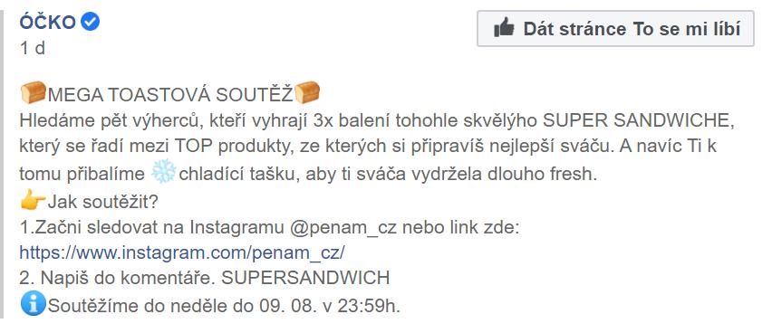 Facebook TV Óčko