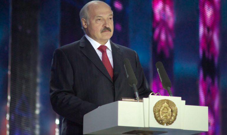 Běloruský diktátor Alexandr Lukašenko  (ČTK)