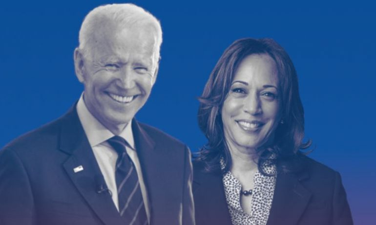 Joe Biden a Kamala Harrisová (tvline.com)