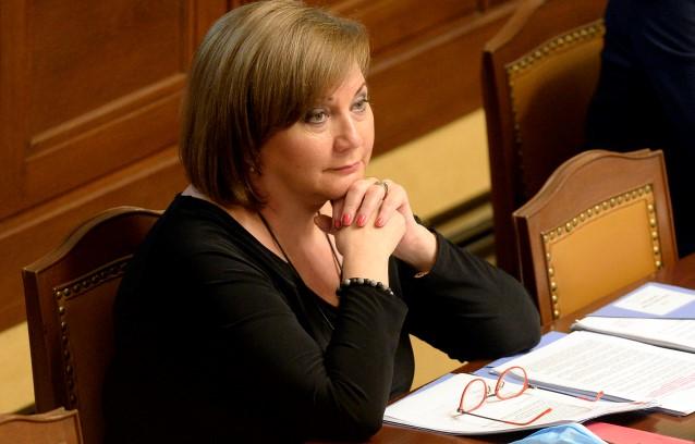 Ministryně financi Alena Schillerová (za ANO)  (ČTK)