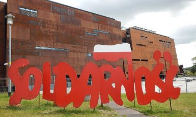 Náměstí Solidarity v Gdaňsku