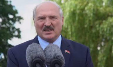 Běloruský diktátor Alexandr Lukašenko (YouTube/24 Канал)