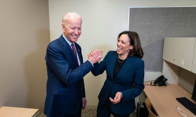 Joe Biden a budoucí viceprezidentka Kamala Harrisová (Facebook/Joe Biden)