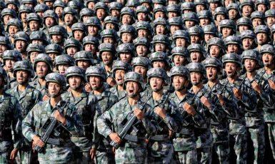Čínská lidová osvobozenecká armáda - ozbrojená pěst čínského imperialismu (FB)