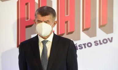 Premiér Andrej Babiš (ANO). (ČTK)