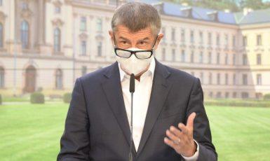 Předseda vlády Andrej Babiš (ANO)  (ČTK)