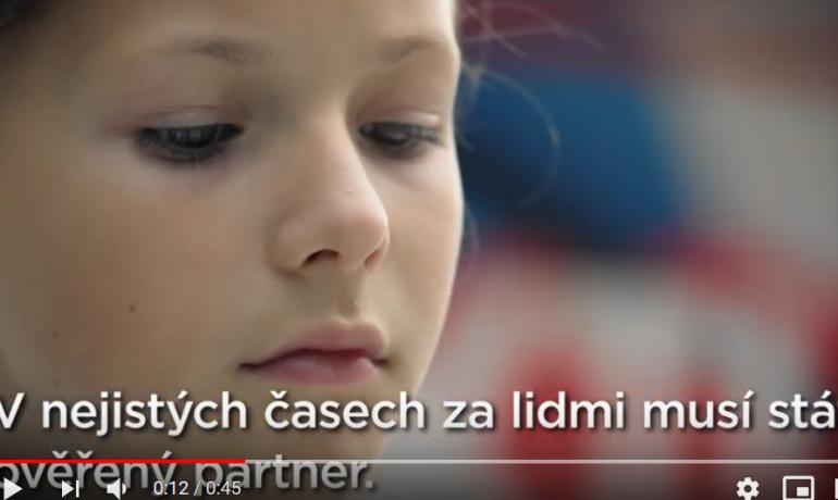 Print screen předvolební spot ČSSD