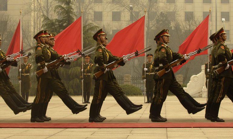 """Čínská lidová osvobozenecká armáda – záruka """"jedné Číny"""" v komunistickém hávu (FB)"""