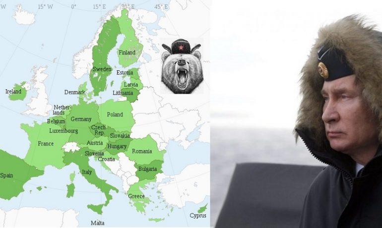 Ruského autokrata Putina je třeba zastavit včas... (wikipedie (koláž))