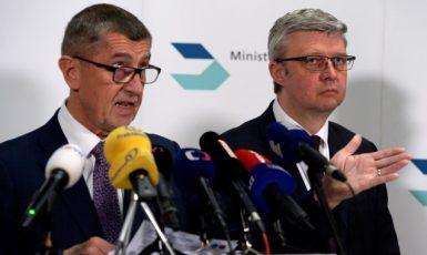 Premiér Andrej Babiš a vicepremiér Karel Havlíček (oba ANO) (ČTK)