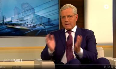 Předseda zahraničního výboru Spolkového sněmu Norbert Röttgen (screenshot, Das Erste)