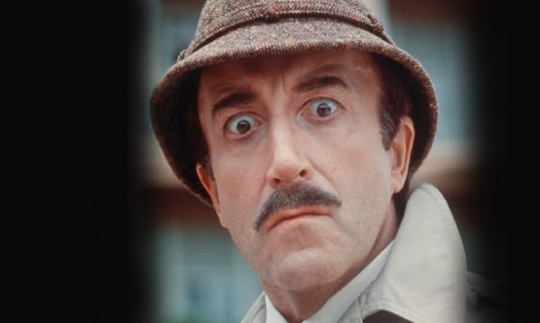 Peter Sellers jako inspektor Clouseau (FB)