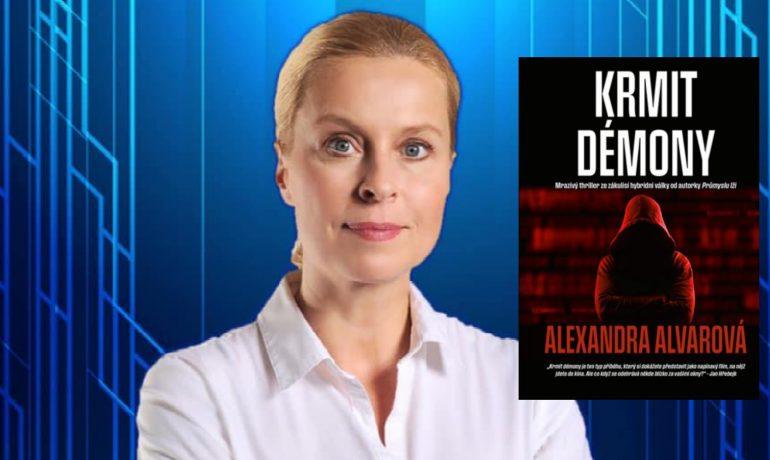 Alexandra Alvarová a její nová kniha  (FB)