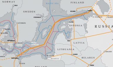 Jedním z problémů Nord Stream 2 pro Evropu je skutečnost, že obchází Ukrajinu i Polsko  (Euractiv)