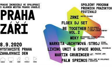 Pozvánka na festival Praha ZÁŘÍ (Praha ZÁŘÍ)