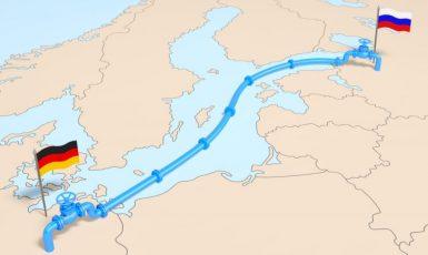 Nord Stream - Evropa mezi Ruskem a Německem (Shutterstock)