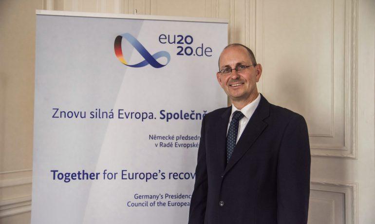 Německý velvyslanec v Praze Christoph Israng (Alena Spálenská)
