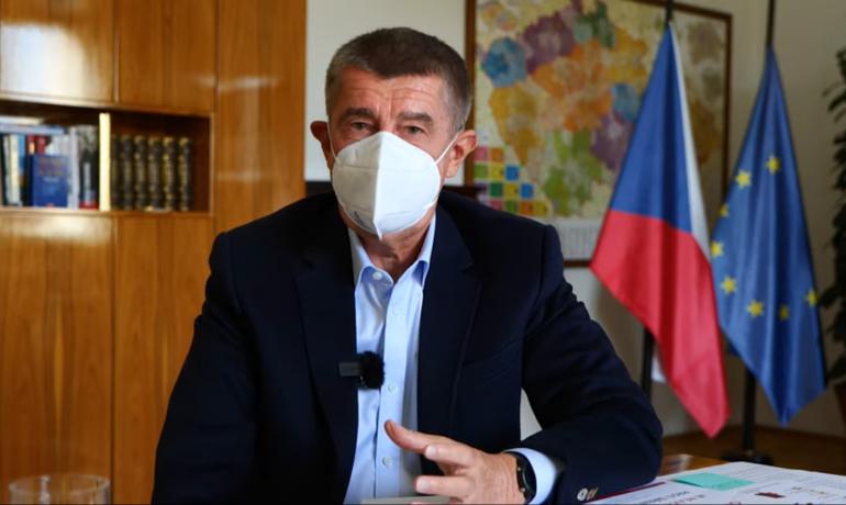 Andrej Babiš  (screenshot YouTube ANO)