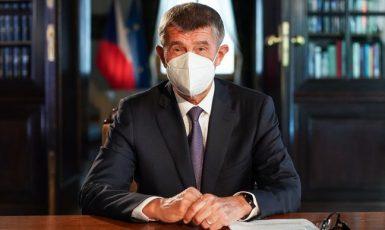 Premiér Andrej Babiš v televizním projevu (ČTK)