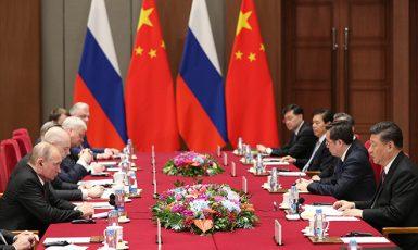 Čína a Rusko - dvě agresivní mocnosti, které lačně vyhlížejí postzápadní svět (getty images (free))