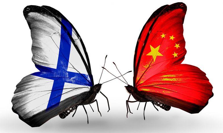 Finsko čelí agresivní čínské diplomacii, jenže finské politické elity dbají na lidská práva.  (koláž nordsip.com)