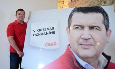 Šéf ČSSD Jan Hamáček zahajuje volební kampaň.  (ČTK)