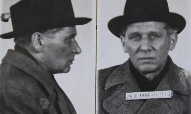 Hrdina Karel Janoušek jako vězeň komunistického režimu (Národní archiv)