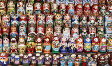 Proslulé ruské matrjošky. (fotoarchiv)