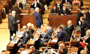 Jednání poslanecké sněmovny – ilustrační foto (Poslanecká sněmovna PČR)