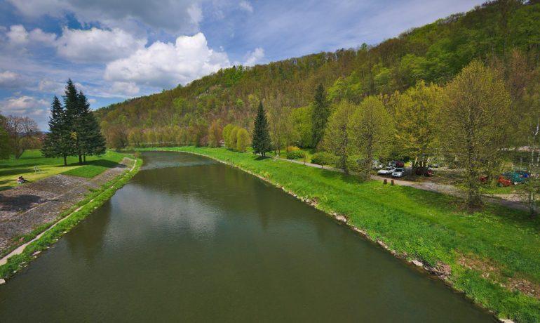 Řeka Bečva – ilustrační foto  (Wikimedia Commons)