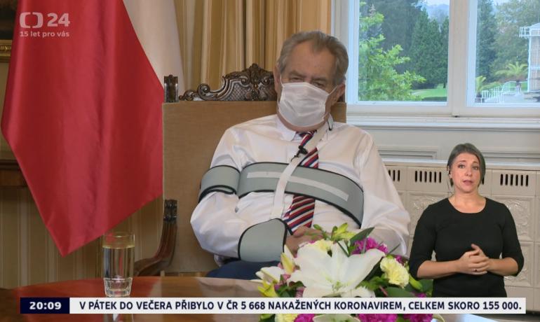 Print screen Česká televize