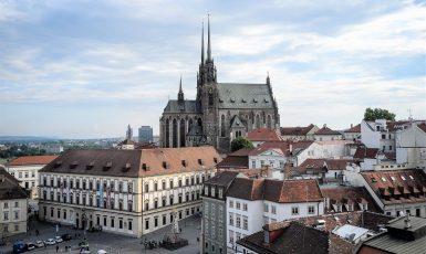 Historické centrum Brna s katedrálou sv. Petra a Pavla – ilustrační foto (Pixabay/Leonhard Niederwimmer)