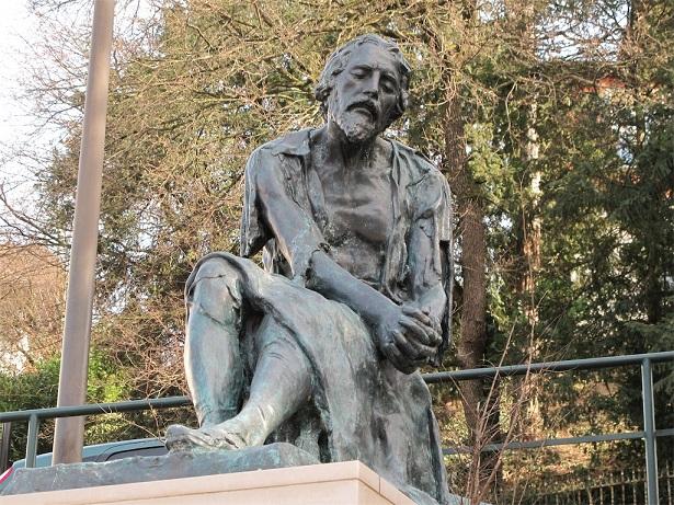Servetův památník ve švýcarské Ženevě (wiki)