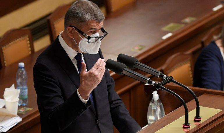 Premiér Andrej Babiš (ANO) v poslanecké sněmovně (ČTK)