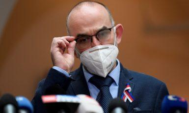 Bývalý ministr zdravotnictví Jan Blatný (za ANO)  (ČTK)