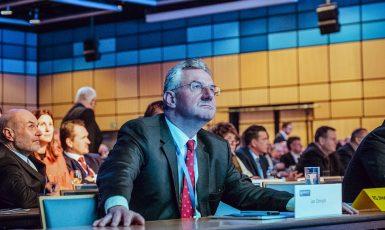 Jan Zahradil (ODS), šéf Skupiny přátelství EU–Čína v Evropském parlamentu (ECR)