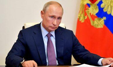 Ruský prezident Vladimir Putin. (FB)