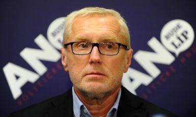 Poslanec Rostislav Vyzula na briefingu hnutí ANO  (ČTK)