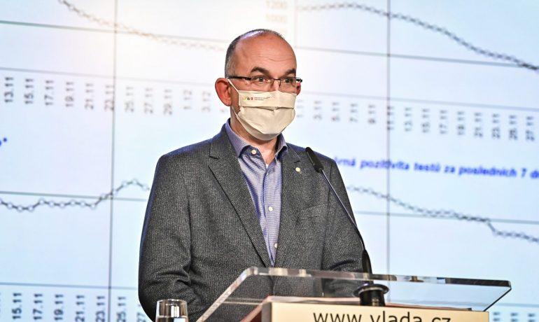 Ministr zdravotnictví Jan Blatný (za ANO)  (Úřad vlády)